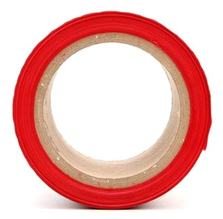 3M 356 3INX1000FT RED CAUTION TAPE