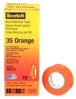 3M 35-ORANGE-1/2 1/2X20FT CDNG TAPE