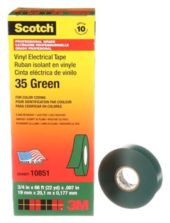 3M 35-GRN-3/4X66FT CODING TAPE