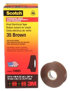 3M 35-BRN-3/4X66FT CODING TAPE