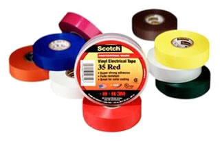 3M 35-MULTI-COLOR-1/2-8PK VNL TAPE