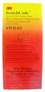 3M SWB-3 WRITE ON BOOK
