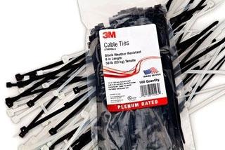 3M CT06220 100/BAG CBL TIE ASMT PCK