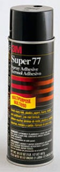 3M Electrical Market Adhesives/Bonding/Sealing 3M 77-Super-24Oz Spray Adhesive at Sears.com