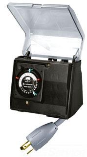 Intermatic P1131 - Portable Heavy Duty Outdoor Pool Timer 20Amp Twist Lock