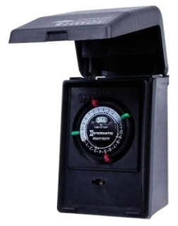 INT-MAT P1121 2-ON/OFF POOL TIMER
