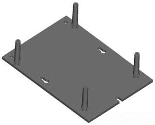 int mat dt b 40a 240v timer bracket gordon electric. Black Bedroom Furniture Sets. Home Design Ideas