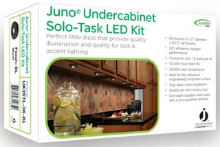 juno uk3stl 3k bl led puck lt kit gordon electric supply. Black Bedroom Furniture Sets. Home Design Ideas