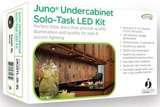 juno uk3stl 3k bl led puck lt kit gordon electric supply. Black Bedroom Furniture Sets. Home Design Ideas