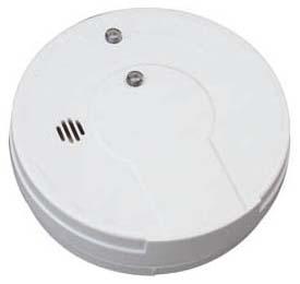 KIDDE 0916E 5-IN 9V WHT SMOKE ALARM I9060 Product Image