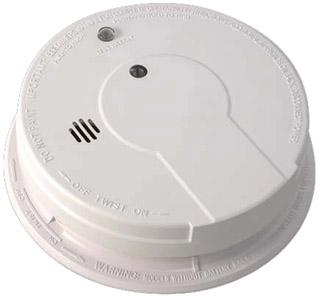 KIDDE 21006378 120VAC SMOKE ALARM W/HUSH Product Image