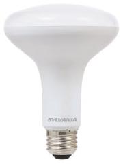 Sylvania 73954 LED9BR30DIM82710YVRP2 LED BR30, 9W, Dimmable, 80CRI, 650 Lumen, 2700K, 11000 LIFE