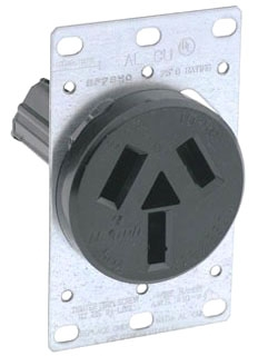 how to add dryer receptacle to prewired range electrical