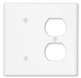 Leviton Mfg Co. Leviton 88087 Wht Blank&Dplx Rcpt Plt at Sears.com