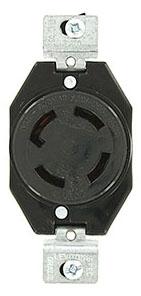 50 Amp Wire Size >> LEVITON 3430-G : LOCKING RECEPTACLE-4W30A250V/600V ...