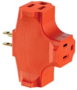 Leviton Mfg Co. Leviton 694 2P3W15A125V Plug Outl Adptr at Sears.com