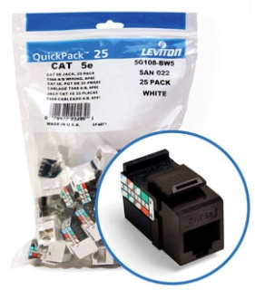 Leviton Mfg Co. Leviton 5G108-Rb5 Gigamax Snp In Jack at Sears.com