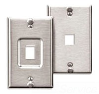 Leviton Mfg Co. Leviton 4108W-1Sp Rcsd Qp Ss Wljax at Sears.com