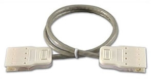 Leviton Mfg Co. Leviton 5G240-10S 10Ft Gry Patch Cord at Sears.com