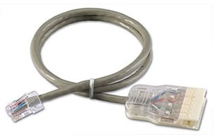 Leviton Mfg Co. Leviton 5G34B-10S 10Ft Gry Patch Cord at Sears.com