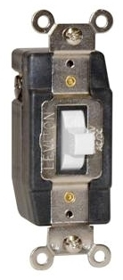 LEVITON 1081-R LOW VOLTAG 3 POS MOMENT Product Image