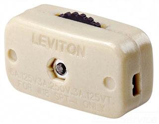 Leviton Mfg Co. Leviton 423-3I Min Feed-Thru Cord Sw at Sears.com