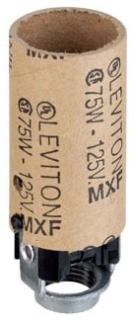 LEVITON 10027 : KEYLESS CAND LAMPHOLDER INT
