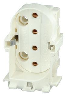 LEVITON 23453 : TWIN TUBE LAMPHOLDER W/SHUNT