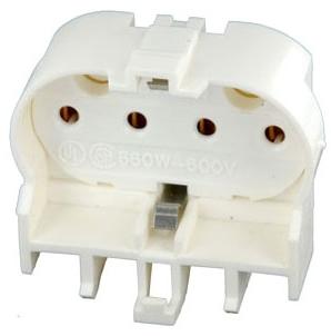 LEVITON 23454 : TWIN TUBE LAMPHOLDER W/SHUNT