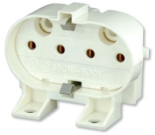 LEVITON 23455 : TWIN TUBE LAMPHOLDER W/SHUNT