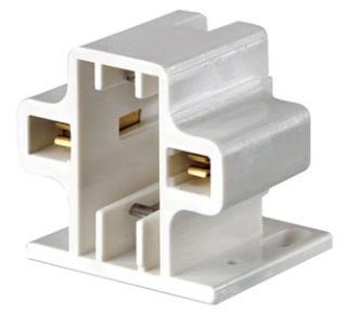 LEVITON 26719-200 : SCR-DOWN CFL LAMPHOLDER