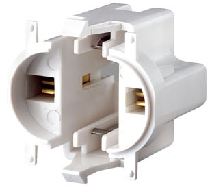 LEVITON 26719-300 : SNAP-IN CFL LAMPHOLDER
