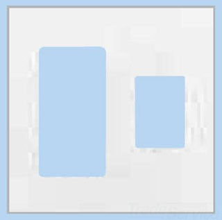 LUTRON ELECTRONICS Lutron Vwp-2Rc-Wh Vareo Wallplate 2Gng Recept/ Cont White at Sears.com