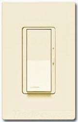 LUTRON ELECTRONICS Lutron Dvscelv-300P-Bi Diva Satin Color 300 Watt Elv Biscuit at Sears.com