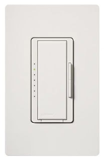Lutron Maestro MA-1000 White 1000W Single Pole/Multi Location Preset Smart Dimmer