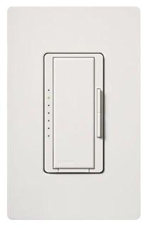 Lutron Maestro MA-1000 White 1000W Single Pole/Multi Location Preset Smart Dimmer