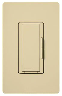 Lutron Maestro MA-R Ivory Smart Remote Dimmer