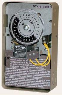 TORK 1101FM SPST 120V 40A TIME SW
