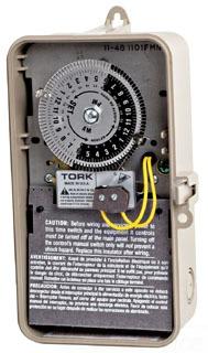 TORK 1101FM-N SPST 120V 40A TIME SW