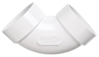 Nutone CF382 - 90 Degree Sweep Elbow