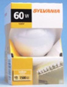 SYLVANIA 14262 60G25/W/RP(p)