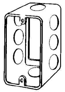 EGS 4CSE1/2 4X2-1/2D HANDYBOX