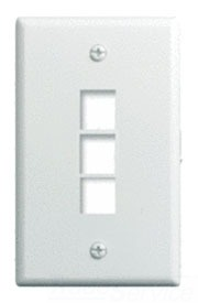On-Q/Legrand Wp3403-Br 1G 3Port Wall Plate at Sears.com