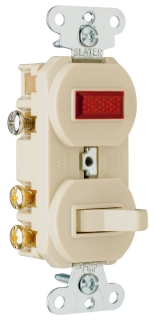Pass & Seymour Inc Wiring Devices & Accessories Pass & Seymour 695-I 3Wy 15A120V Sw&Red Pl at Sears.com