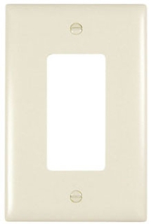 P s tpj26 trademaster wall plate jumbo single gang decor gordon electric supply inc for Decor ingang
