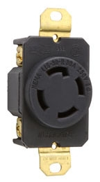 Pass & Seymour Inc Wiring Devices & Accessories Pass & Seymour L1530R 30A 3P4W 250V T/L (**) at Sears.com