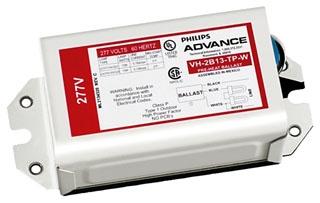 ADVANCE H2B13TPBLSM : ELECTROMAGNETIC BALLAST 2 LAMP 13W COMPACT(2-PIN) 120V