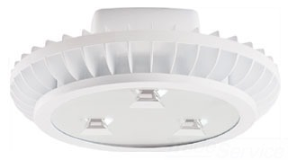 RAB AISLED78NW HIGHBAY AISLE 78W NEUTRAL LED 3X26W W/ HOOK & CORD WHITE Product Image