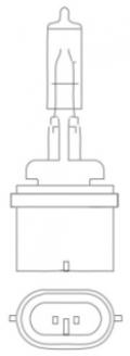 SATCO S7156 27W 12.8V HALOGEN LAMP