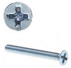 ACORN FHP634J 6-32 X 3/4IN FLAT HD PHIL M/S ZN PLTD JAR Product Image